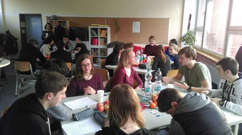 Australische Schülergruppe Zu Besuch An Der Adalbert Stifter Schule