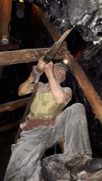 Bergwerksarbeite