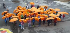 Erstklässlerregenschirme