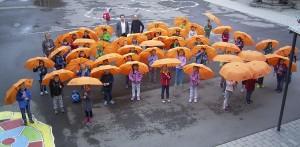 Ein Regenschirm für jeden Erstklässler