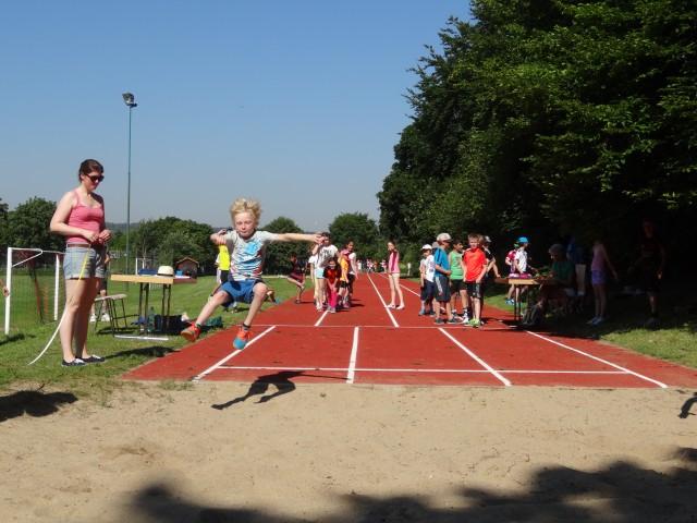Bundesjugendspiele Leichtathletik Grundschule