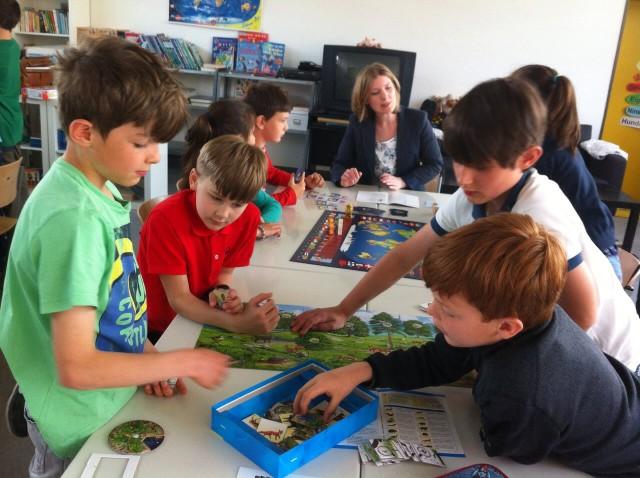 Klasse 4b testet Spiele für die Süddeutsche Zeitung