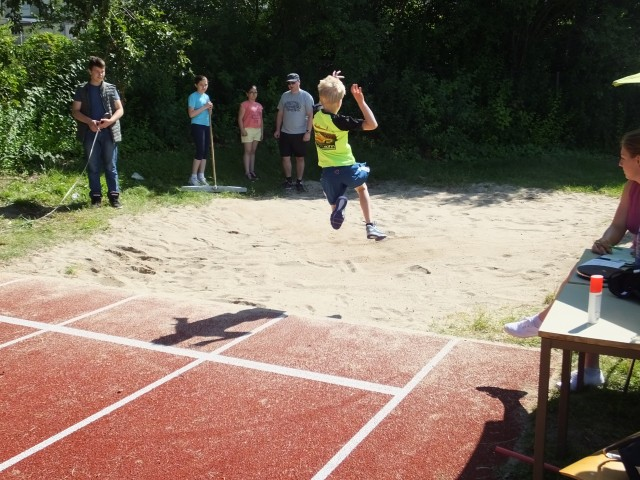 Bundesjugendspiele Leichtathletik der Grundschule