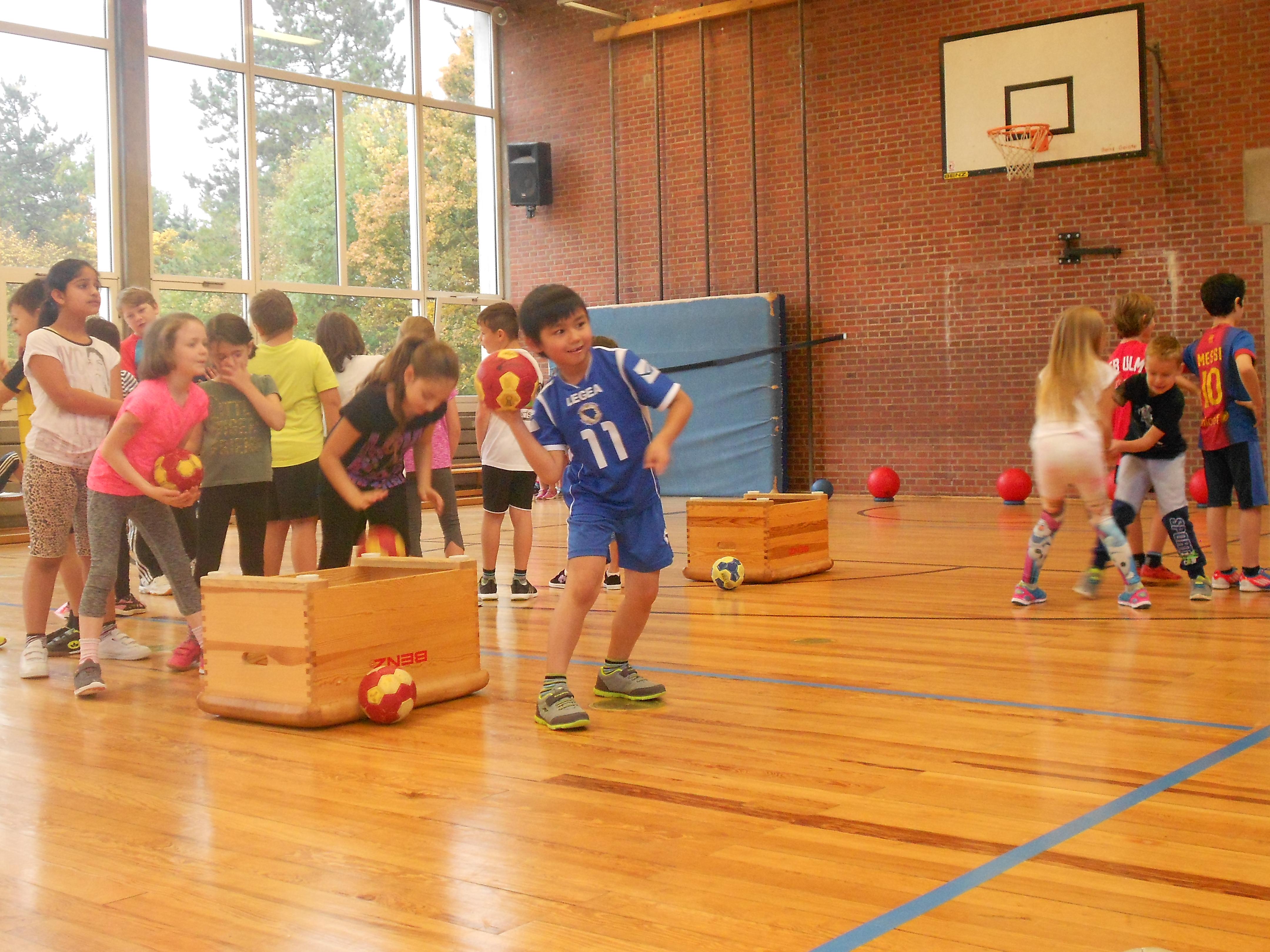 Handballtag Klasse 2