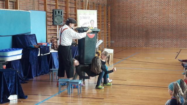 Umweltprojekt mit Jo Brösele und Jumping Jo zu Gast