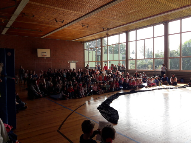 """Theatervorführung """"Frederick"""" für die Vorschüler der Kindergärten"""